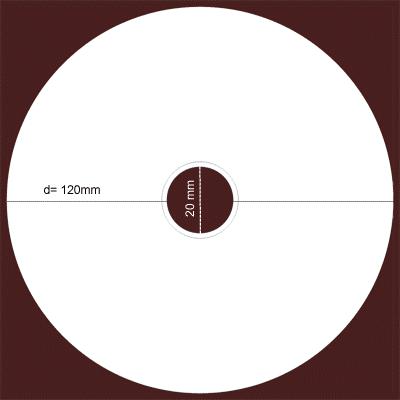طراحی لیبل سی دی