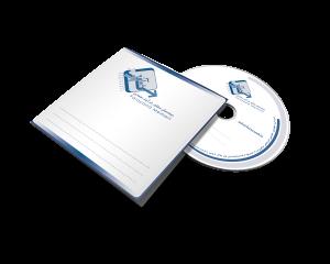 نمونه چاپ سی دی شرکت مهندسی فرایند