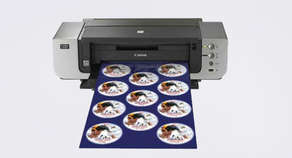 دستگاه چاپ سی دی 11 تایی پرو 9000